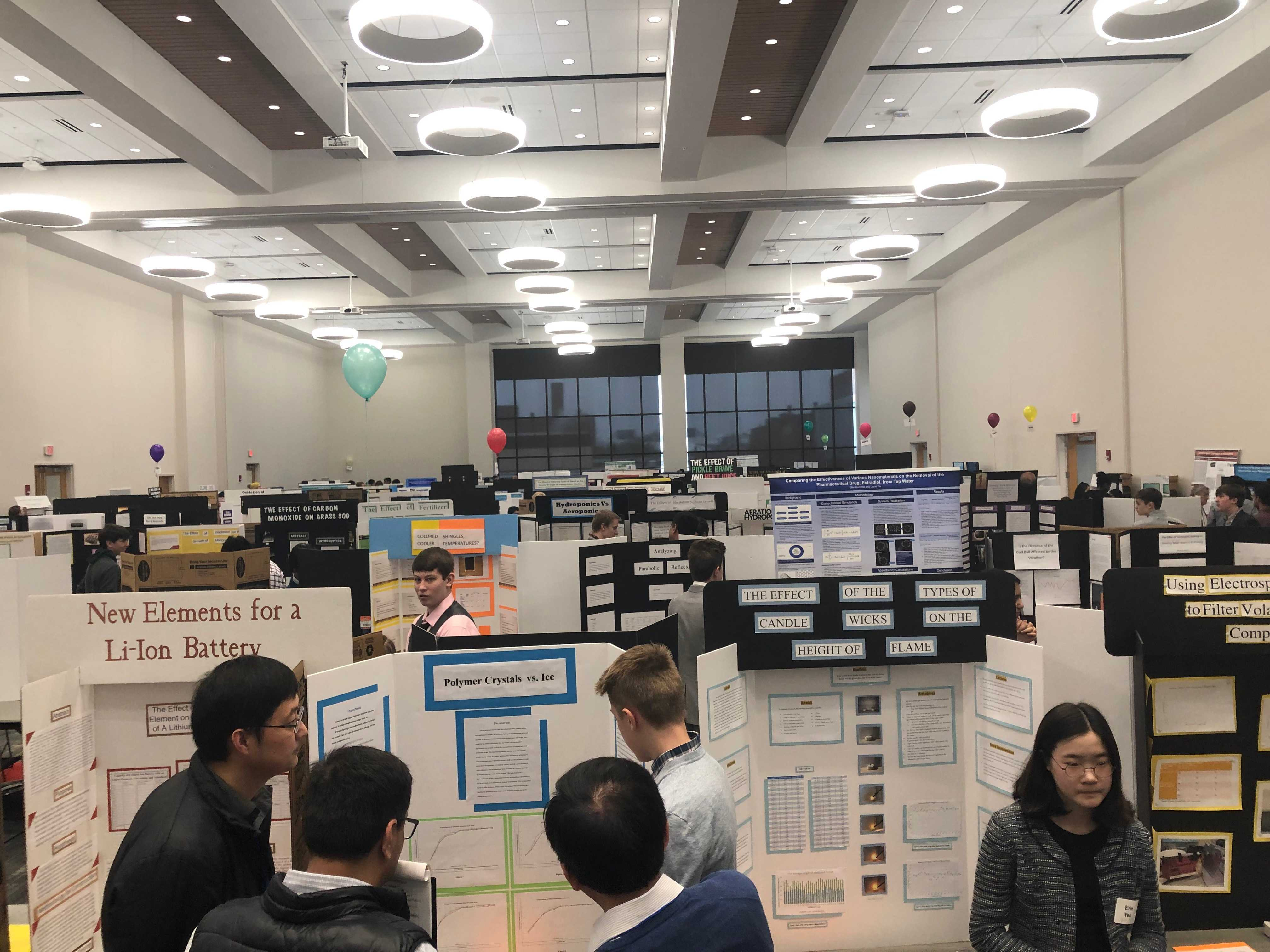 Science Fair explodes student knowledge