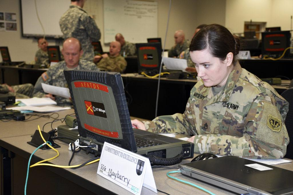 Staff+Sgt.+Nicole+Mayberry+completes+a+practical+exercise.+Photo+by+Captain+Joe+Trovato+is+labeled+for+reuse+on+the+website+for+Wisconsin%27s+Department+of+Military+Affairs.+No+changes+were+made+to+the+original+image.+Use+of+this+image+does+not+indicate+photographer+endorsement+of+this+article.