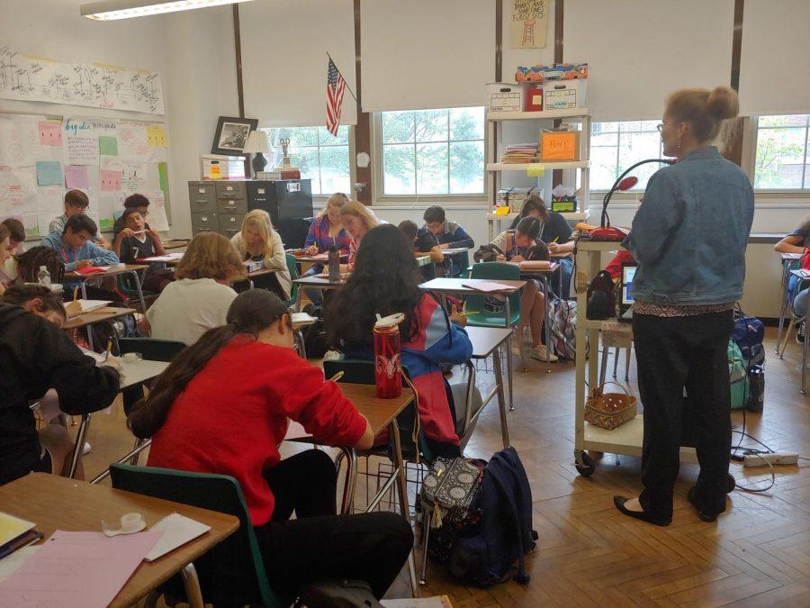 Freshman year: first semester reflection