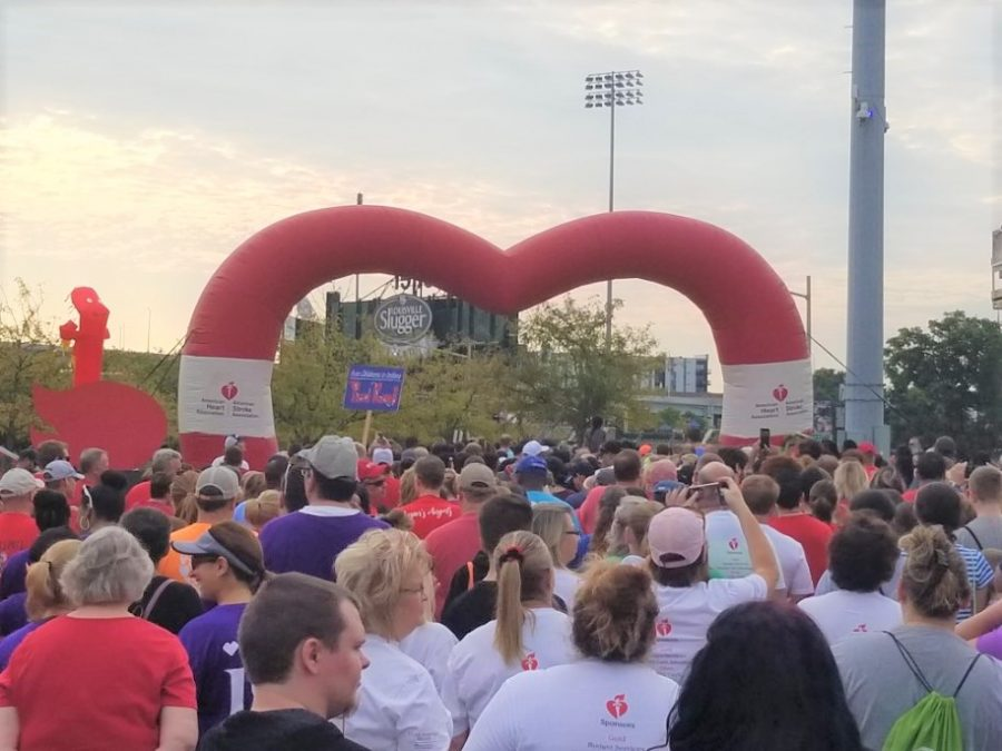 Louisville hosts annual American Heart Association Heart Walk