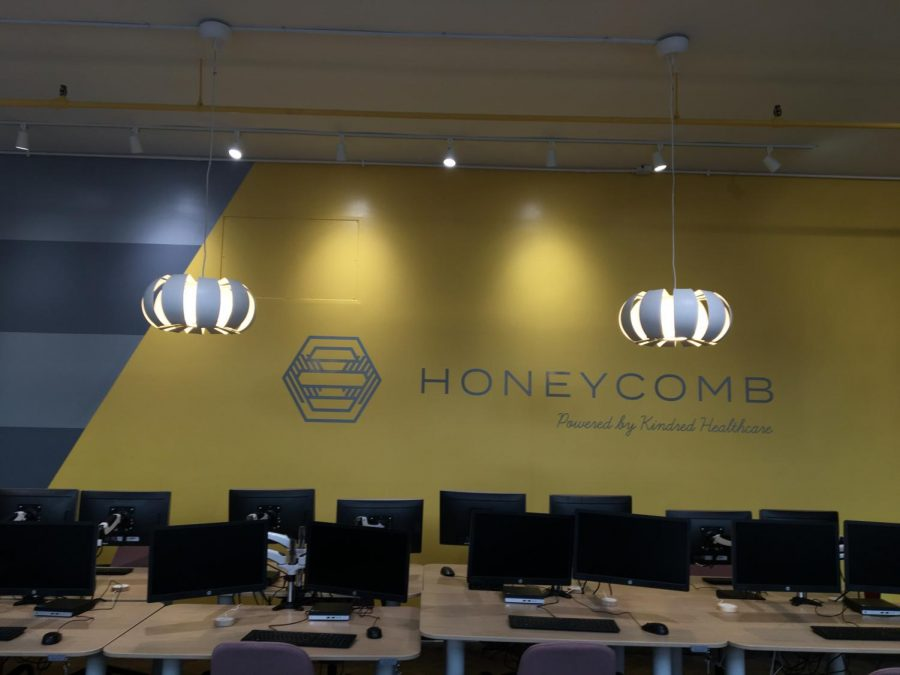 The Honeycomb was designed to be a relaxing, yet modern space for students to explore and learn. Photo by Mandala Gupta VerWiebe