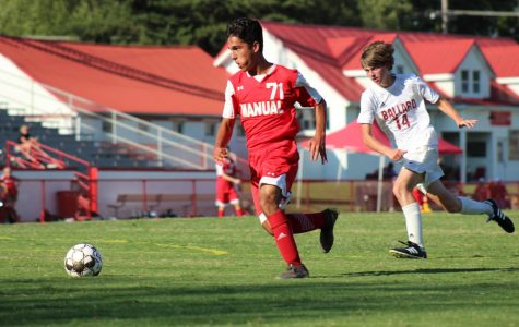 Junior varsity  boys' soccer game against Ballard yields no fruit