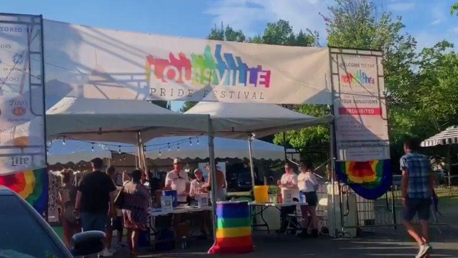 Highlights from the Louisville Pride Festival