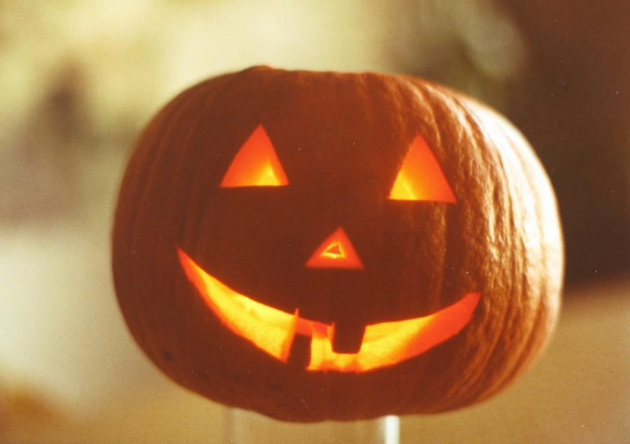A Jack-O-Lantern, due to Red-White week and especially Doomsday's  association with Halloween.