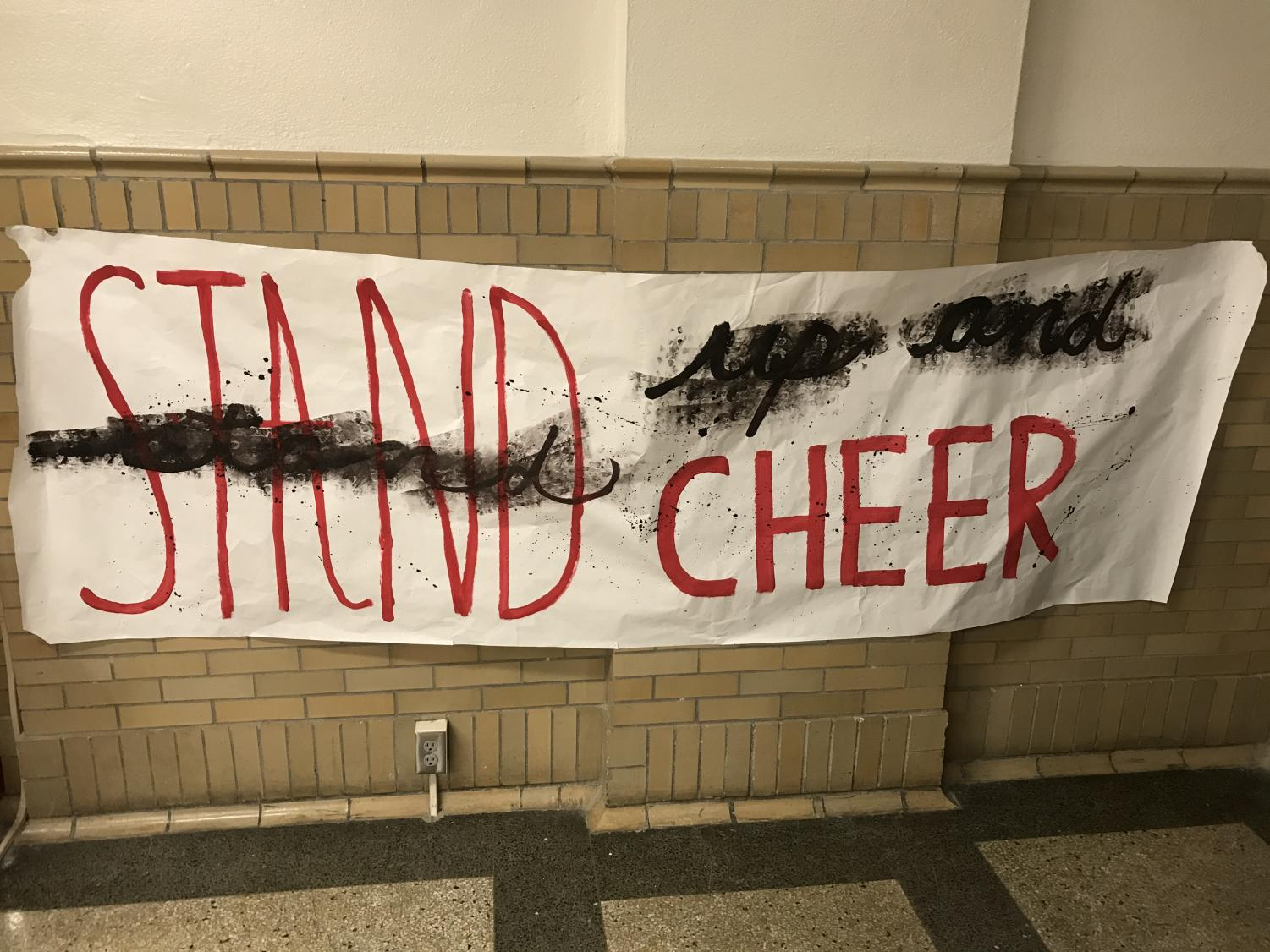 One of the many R/W Week posters at Manual. Photo by Tyler Lericos