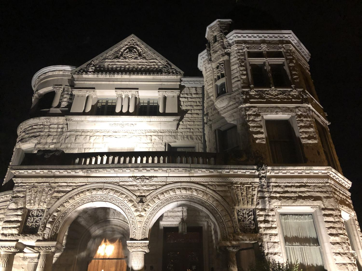 The Conrad-Caldwell House Museum is believed to be a deeply haunted place in Old Louisville. Photo by EP Presnell