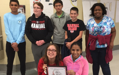 Manual's JV quick recall team wins Bulldog Tournament