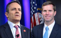 Bevin, Beshear spar in WLKY gubernatorial debate
