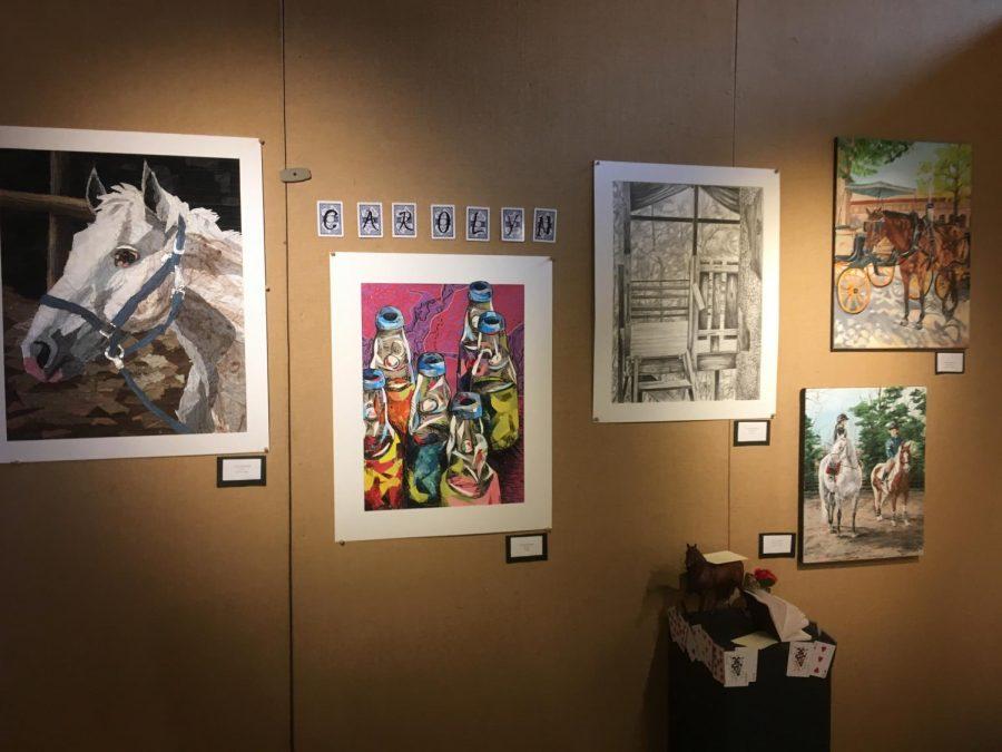 Art+pieces+made+by+Carolyn+Siegenthaler+%2812%2CVA%29.+Photo+by+Adrienne+Sato.