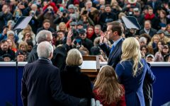 Andy Beshear's swearing in as governor. Image courtesy of the Office of the Governor of Kentucky.