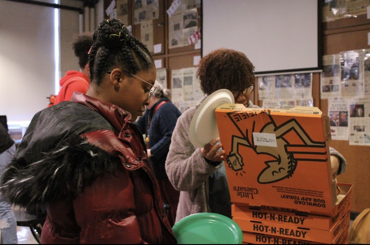 BSU hosted their annual holiday party this year. They have lots of goals for the following semester. Photo by Mandala Gupta Verwiebe
