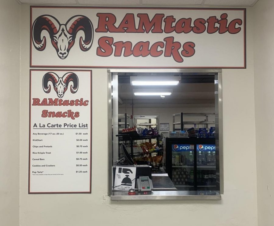 The new snack bar is now open.