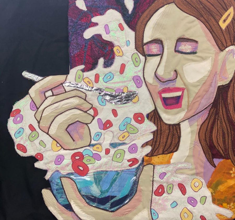 Laughing Over Spilled Milk, by Rivers Tarr.