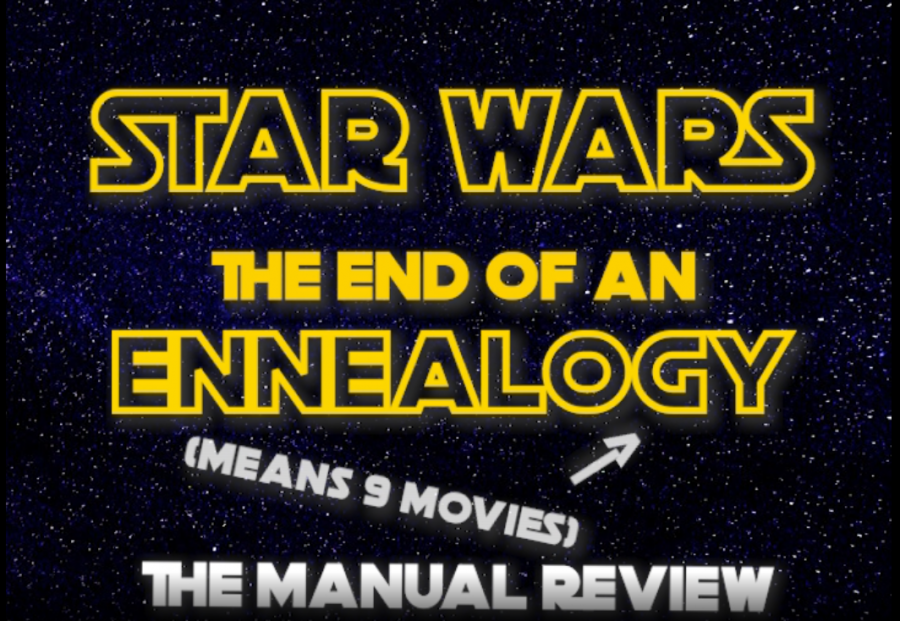 Title to the Manual Star Wars Review Video. Photo by Tyler Lericos
