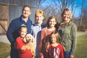 From left to right: Justin Prather, Lacey Prather, Brennan Prather, Rhyan Prather, Randi Prather, and Lesley Prather. Rhyan and Lesley Prather were victims in the crash.