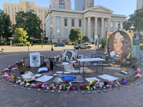 Breonna Taylor Memorial in Jefferson Park. Photo by Payton Carns.