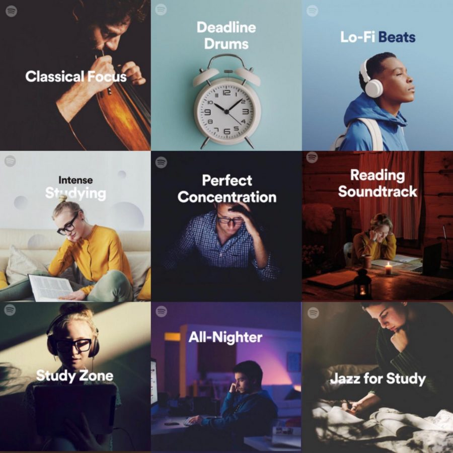 Destress Spotify Albums