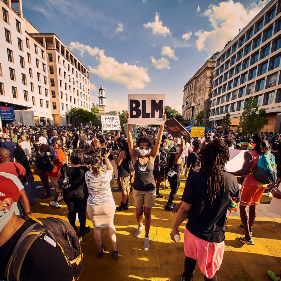 """""""Black Lives Matter Protest 6/6/20 - Washington, DC [Explored]"""" by Geoff Livingston is licensed under CC BY-NC-ND 2.0"""