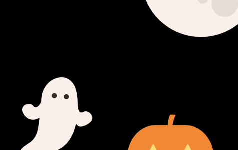 Halloween theme infographic by Aliyah Lang