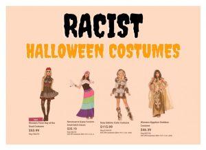 Screenshotted images originate from Costume Supercenter Website.