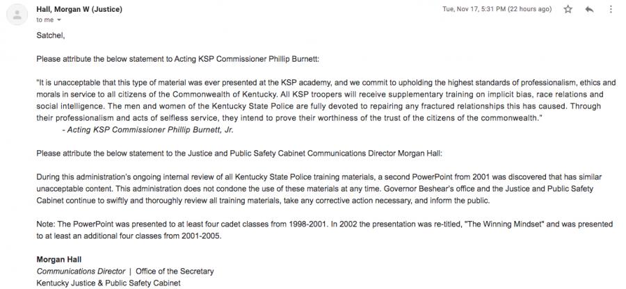 Phillip Burnett statement