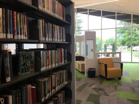 The Northeast Louisville Free Public Library has a robust collection of books for a variety of interests and age groups. Photo by Isabella Bonilla