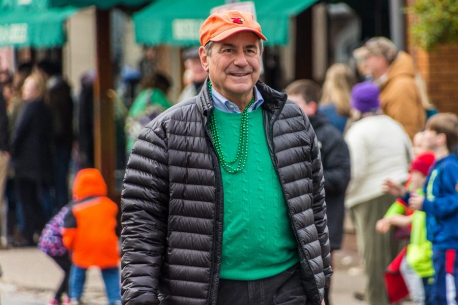 Representative John Yarmuth at Louisvilles annual St. Patricks Day Parade. Photo sourced from Flickr.