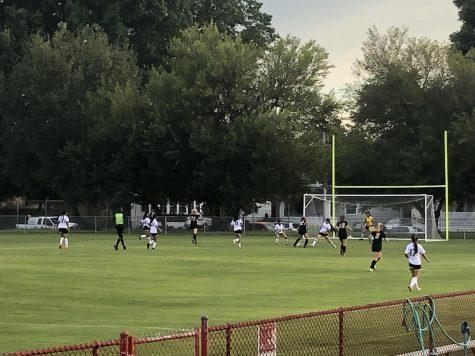 Manual girls soccer team.