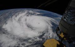 Satellite view of Hurricane Ida