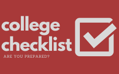 Get prepared to apply for college using these easy steps. Design by Macy Waddle.