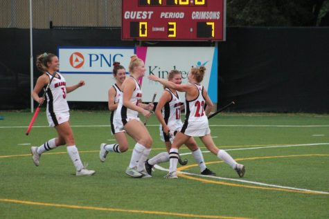 Varsity field hockey conquers Male in the quarterfinals