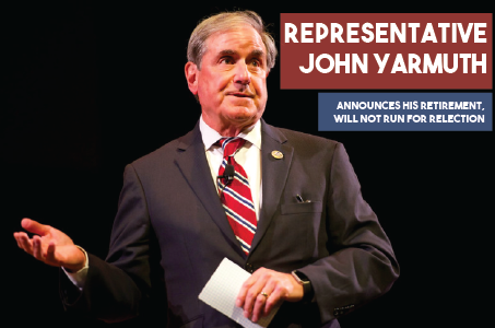 Congressman John Yarmuth. Photo sourced from Flickr, courtesy of Festival of Faiths. Design by Macy Waddle.