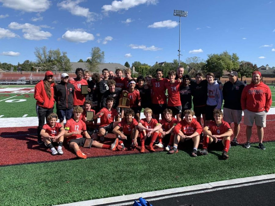 Boys' soccer beats St. Xavier for their first regional title in 17 years